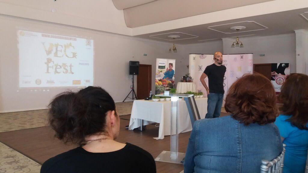 Discurs VegFest- Haplea 2016