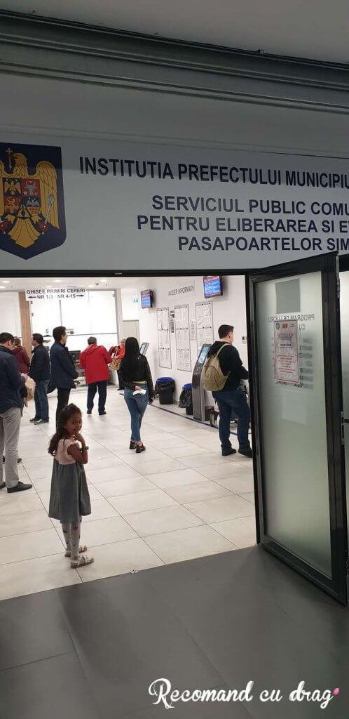 Serviciul Pasapoarte Plaza Romania